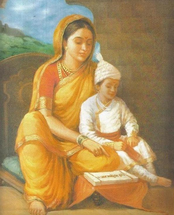 childhood-shivaji-and-jijabai