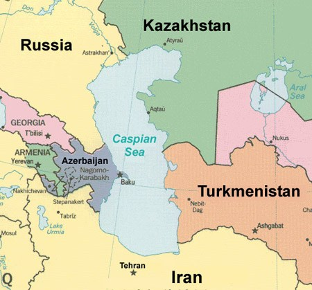 Caspian-Sea-map