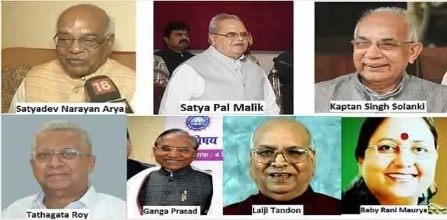 seven new governors
