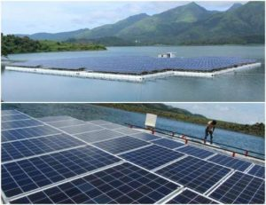 Floating-solar-plant