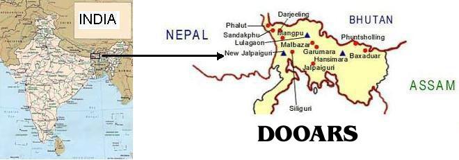 map_dooars