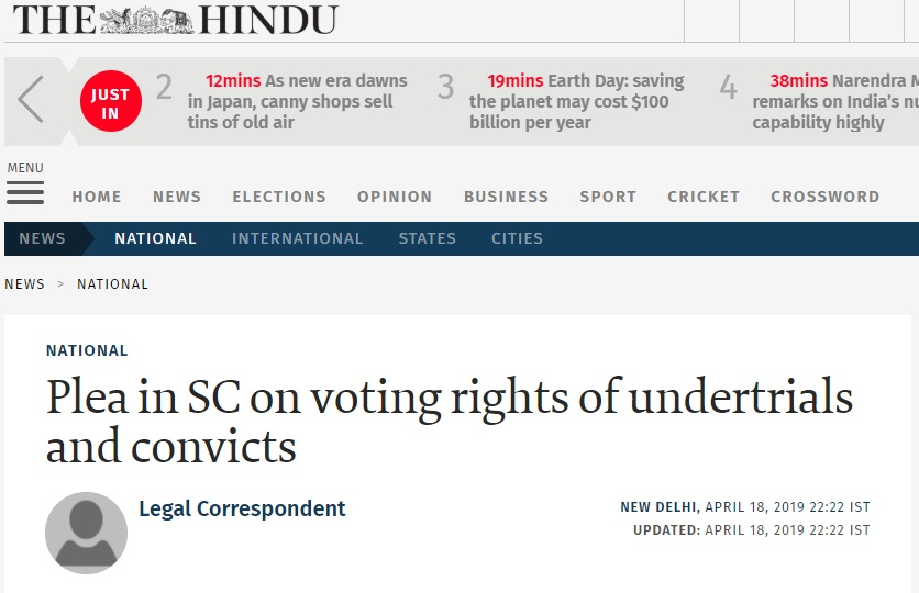 Provision violates the right to equality the hindu