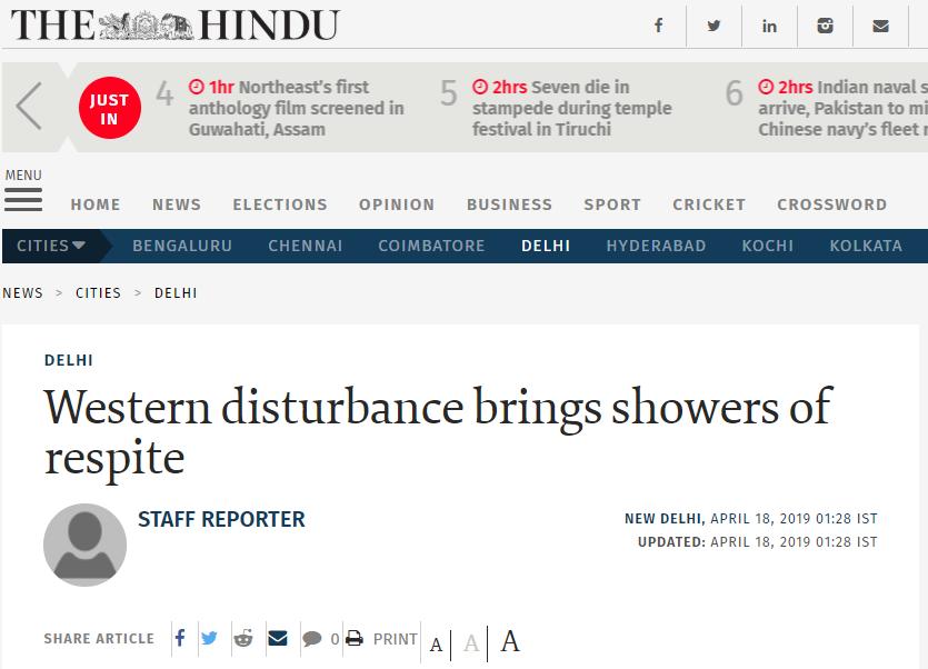 Western-Disturbance