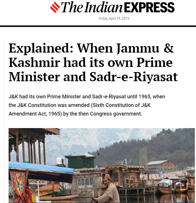 indian express editorial