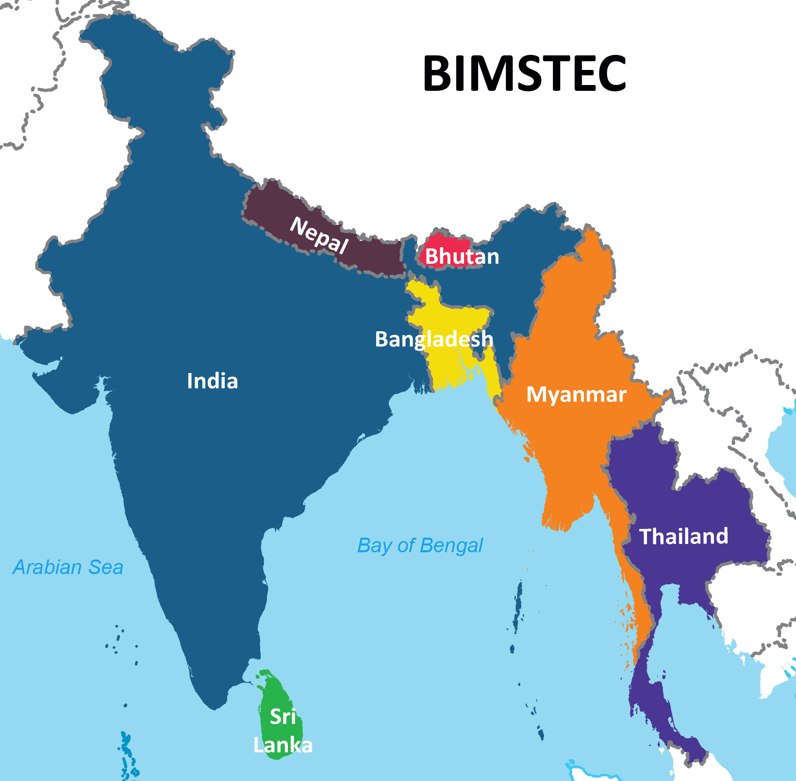 bimstec_map_countries
