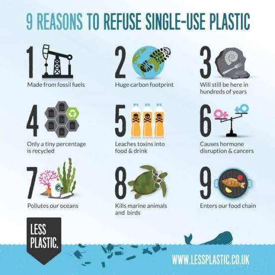 single use plastic formula