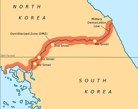 Korean Demilitarized Zone – DMZ