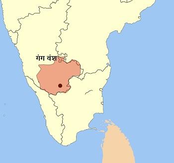 ganga empire map