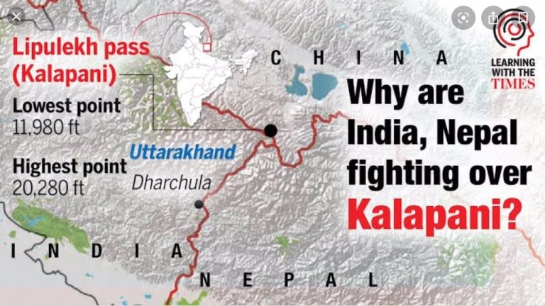 india_nepal dispute