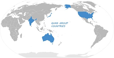 QUAD GROUP COUNTRIES