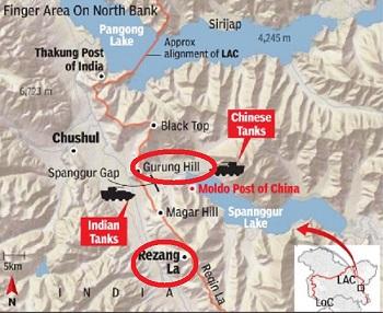 gurung_hill_rezang_la_map