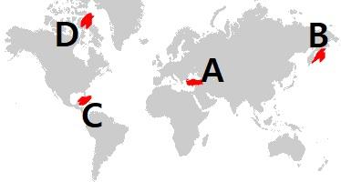 salda lake map
