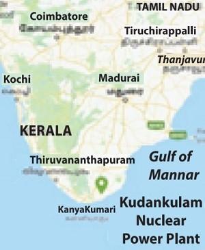 Kudankulam map
